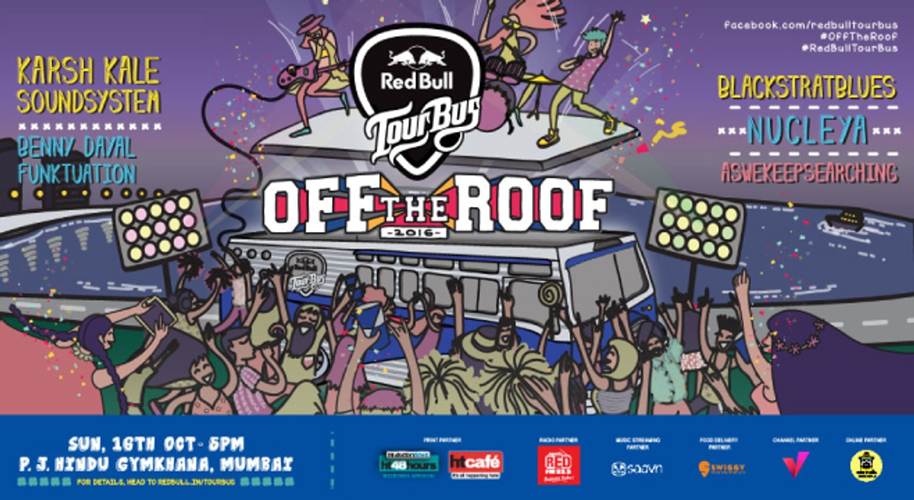 Red Bull Tour Bus Off The Roof 2016