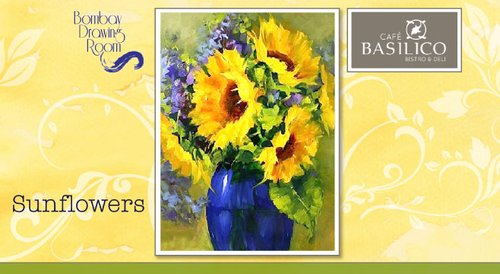 Image for Cafe Basilico Painting Party - Sunflowers 57ee066bf75ca0dc20325dec