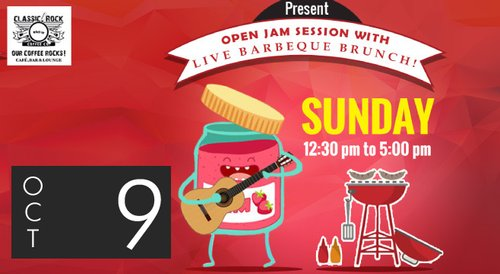 Image for Classic Rock Coffee Co. presents Live Barbeque Brunch 57f242d1d7377842071c172b