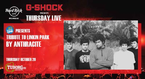 Image for 94.3 Radio One Presents Tribute to Linkin Park by Anthracite. Presented by G-Shock 57f2ae0bd7377842071c5215