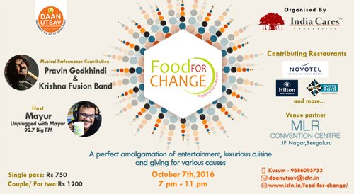 Image for India Cares: Food For Change 57db9d963a066345078e3263