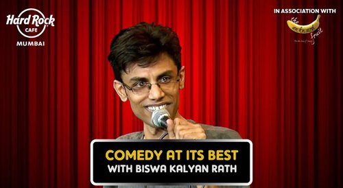 Image for Comedy at its best feat. Biswa at Hard Rock Cafe 57ecb5fff75ca0dc2031f38d