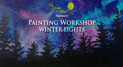 Image for Painting Workshop: Winter Lights 57ea053451dca3920782db7e