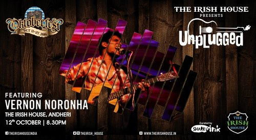 Image for The Irish House presents: Unplugged with Vernon Nornonha 57f4ddc339671b90078f6ab8