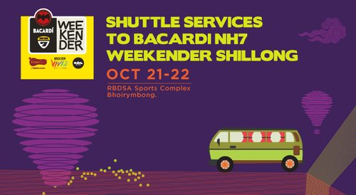 Image for Ride to Bacardi NH7 Weekender Shillong 57e3a76451dca3920780d385