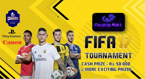 Image for FIFA 17 Tournament by GamingMist 57e28356110a824607992212