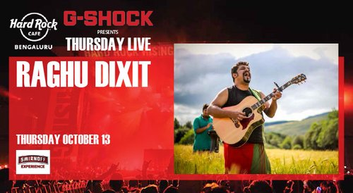 Image for Raghu Dixit. Presented by G-Shock 57eb7a637a7aa57b1225e371