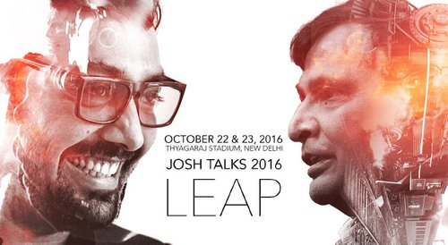 Image for Josh Talks 2016 : LEAP 57444385f0692443078fc67d