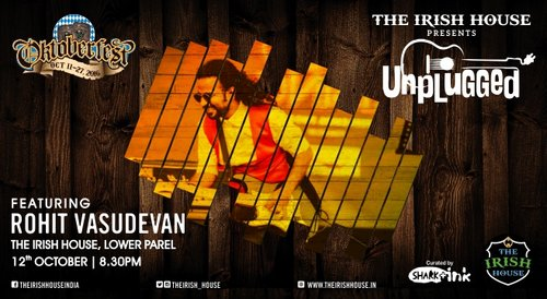 Image for The Irish House presents: Unplugged with Rohit Vasudevan 57f4e160d7377842071d3fe2