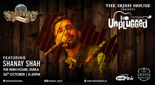 Image for The Irish House presents: Unplugged with Shanay Shah 57f4e39739671b90078f6e06
