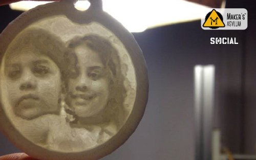 Image for Father's Day Special: Memory on Lithophane 557151f6f8ce47ac19e87f1f